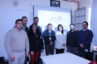 Parte del equipo multidisciplinario que participó en la Comisión Evaluadora